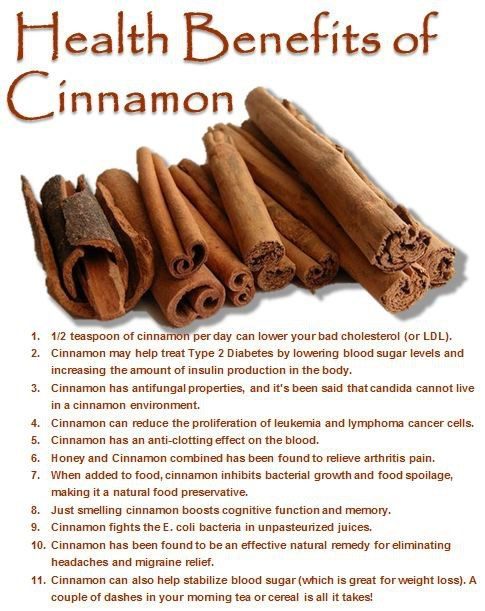 Health Benefits of Cinnamon - A tablespoon a day in my ...