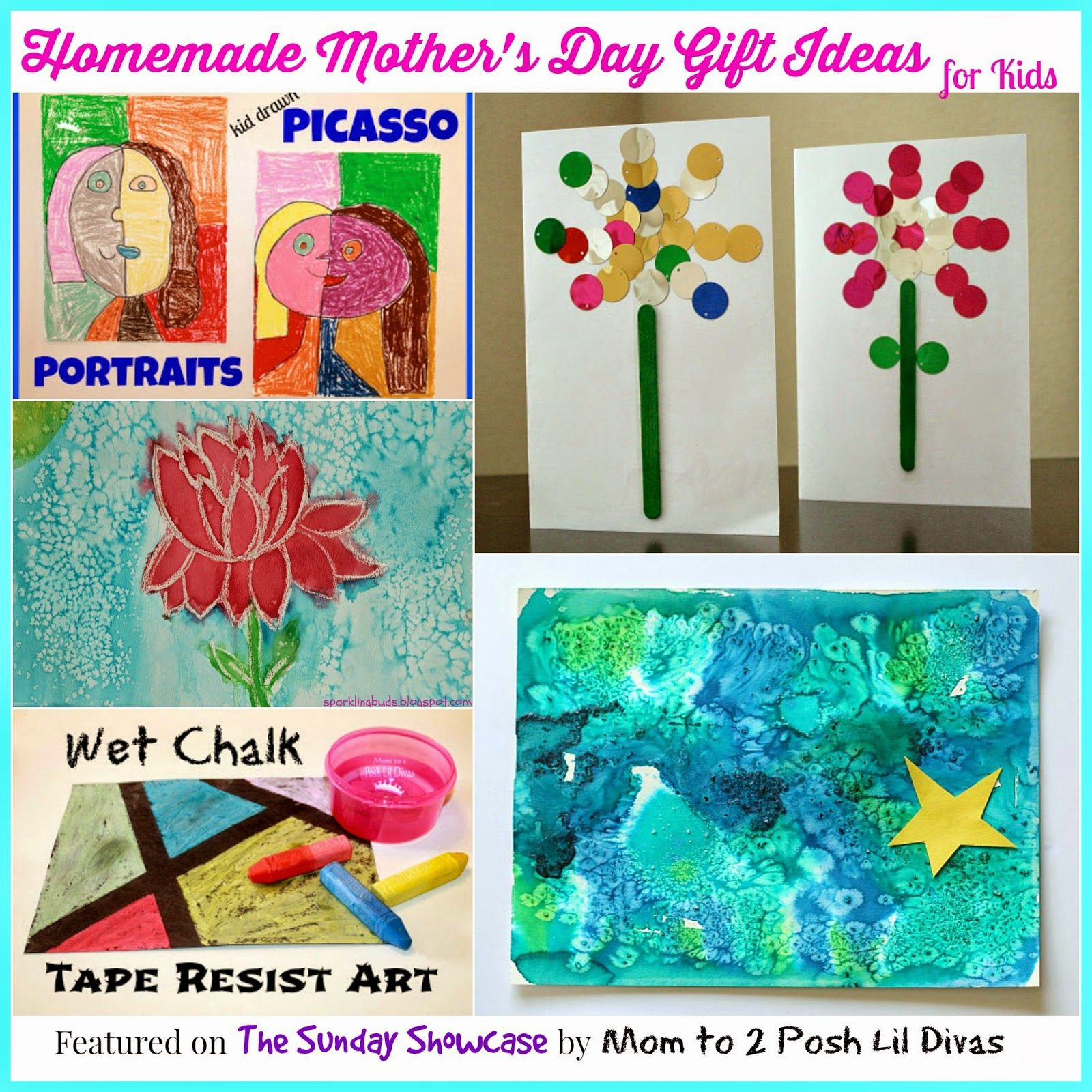 Homemade Gift Ideas That Kids: Mom To 2 Posh Lil Divas: Homemade Mother's Day Gifts For