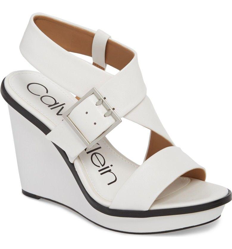 Calvin Klein Palma Wedge Sandal (Women
