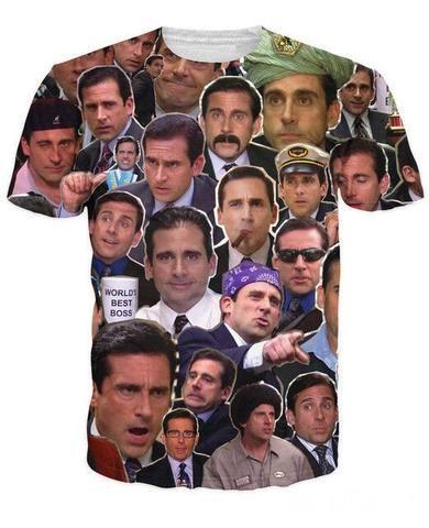 Steve Carell Collage T-Shirt Captain America 3D T Shirts Men O Neck Star  Wars USA Flag Man T-Shirt Life of Pi Mens Tops Skull 3d tshirt Free  Shipping Tees ... 0c85f288e