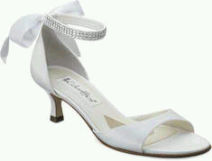 Cute Low Heel Wedding Shoe