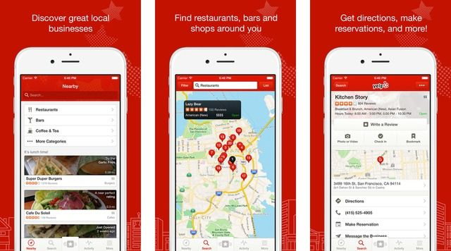 Yelp App Adds Ability to Browse Photos by Category Web