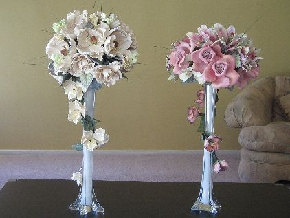 Silk flower centerpieces flower arrangements pinterest silk silk flower centerpieces junglespirit Image collections
