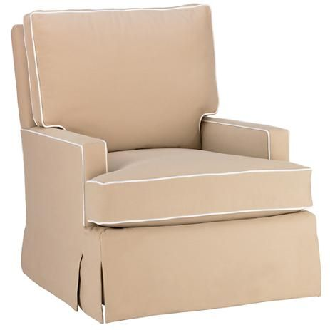 Pleasant The Land Of Nod Khaki Sand Mod Nod Swivel Glider Sewing Beatyapartments Chair Design Images Beatyapartmentscom