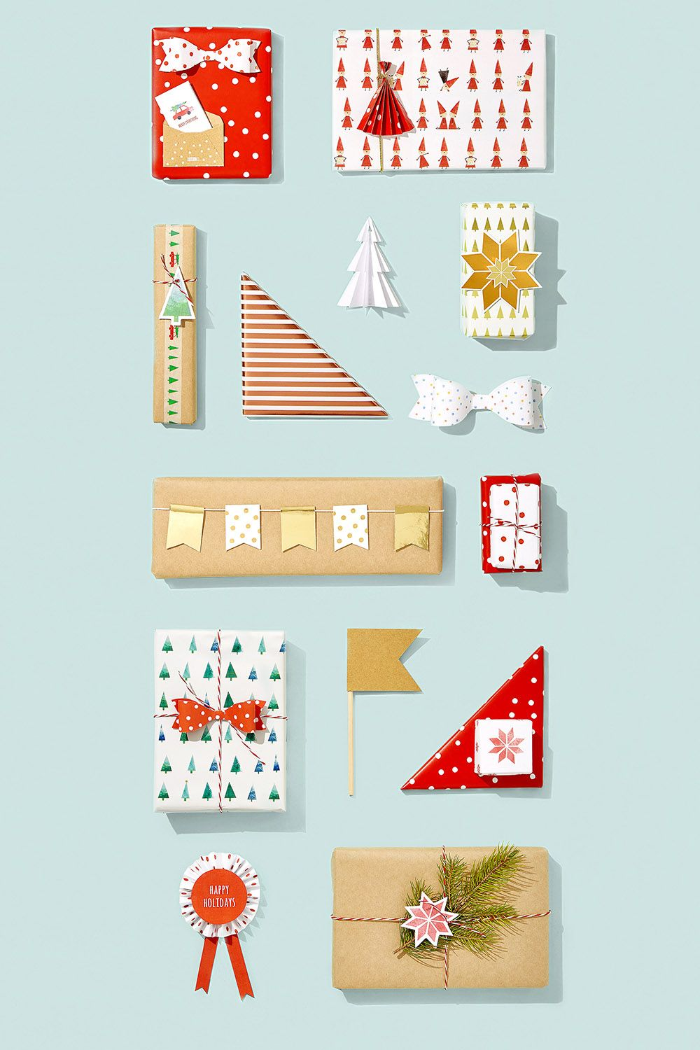 Be inspired to wrap your Christmas gifts in style with these present wrapping ideas