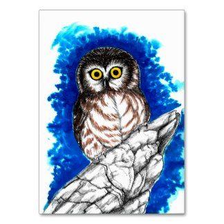 Little Owl Business Card Template