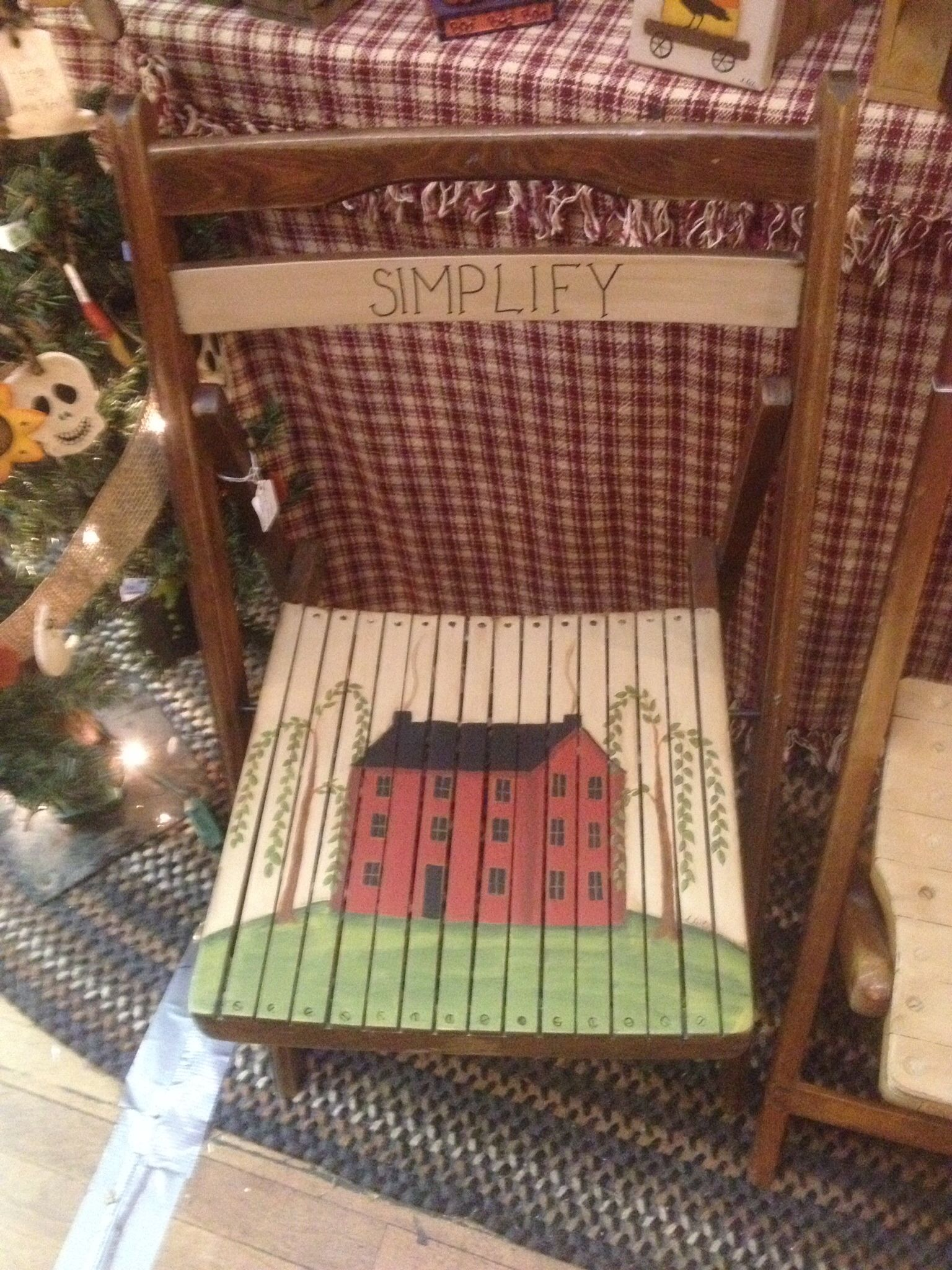 Painted chair by Sharren | Painted by Me | Pinterest ...