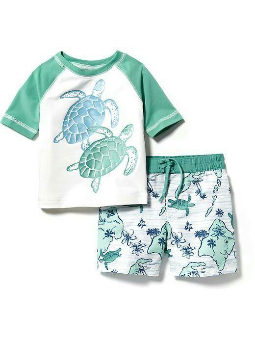 1287e1da43 Old Navy swim set for baby boy | baby boy | Baby boy swimwear, Baby ...