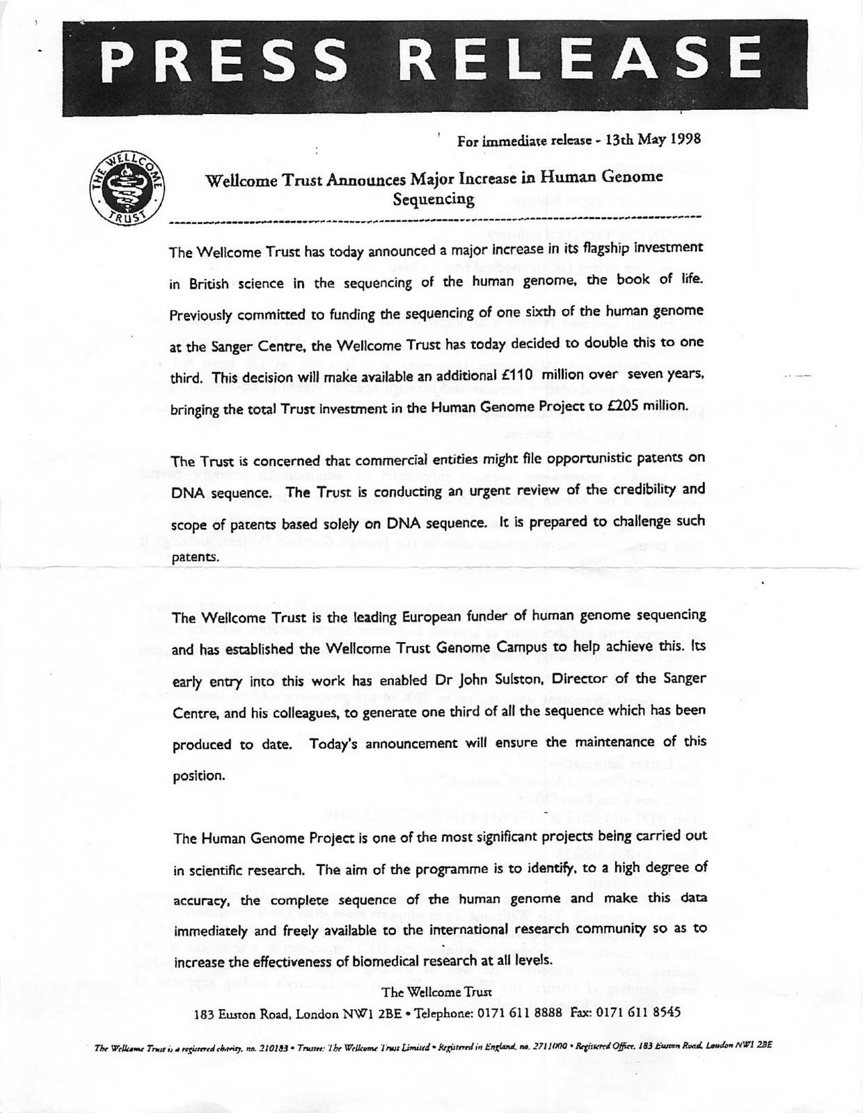 How to write a great press release a sample press release template