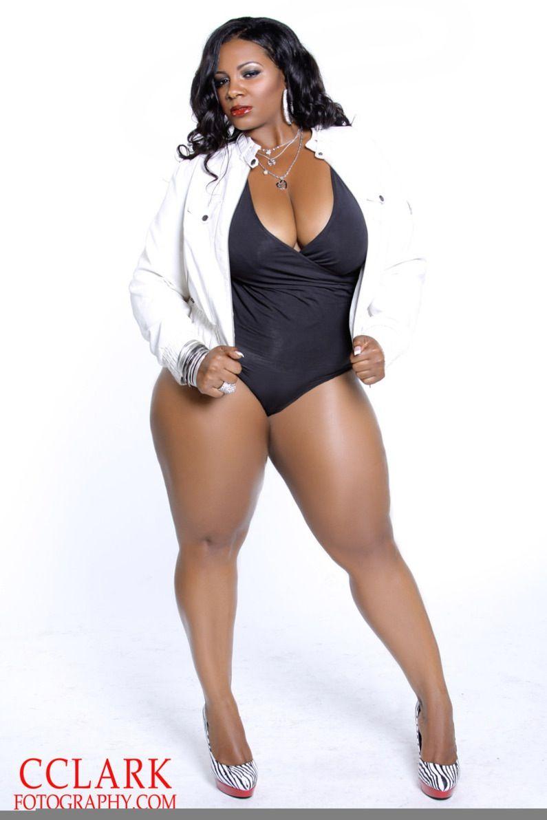 Busty ebony bbw