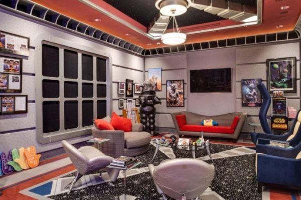 maison de geek salle star trek 2 Une maison de geek à 35 millions de