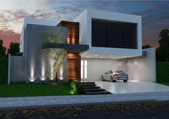 Home Fernando Farinazzo Arquitetura Home Pinterest Fachadas - fachadas contemporaneas