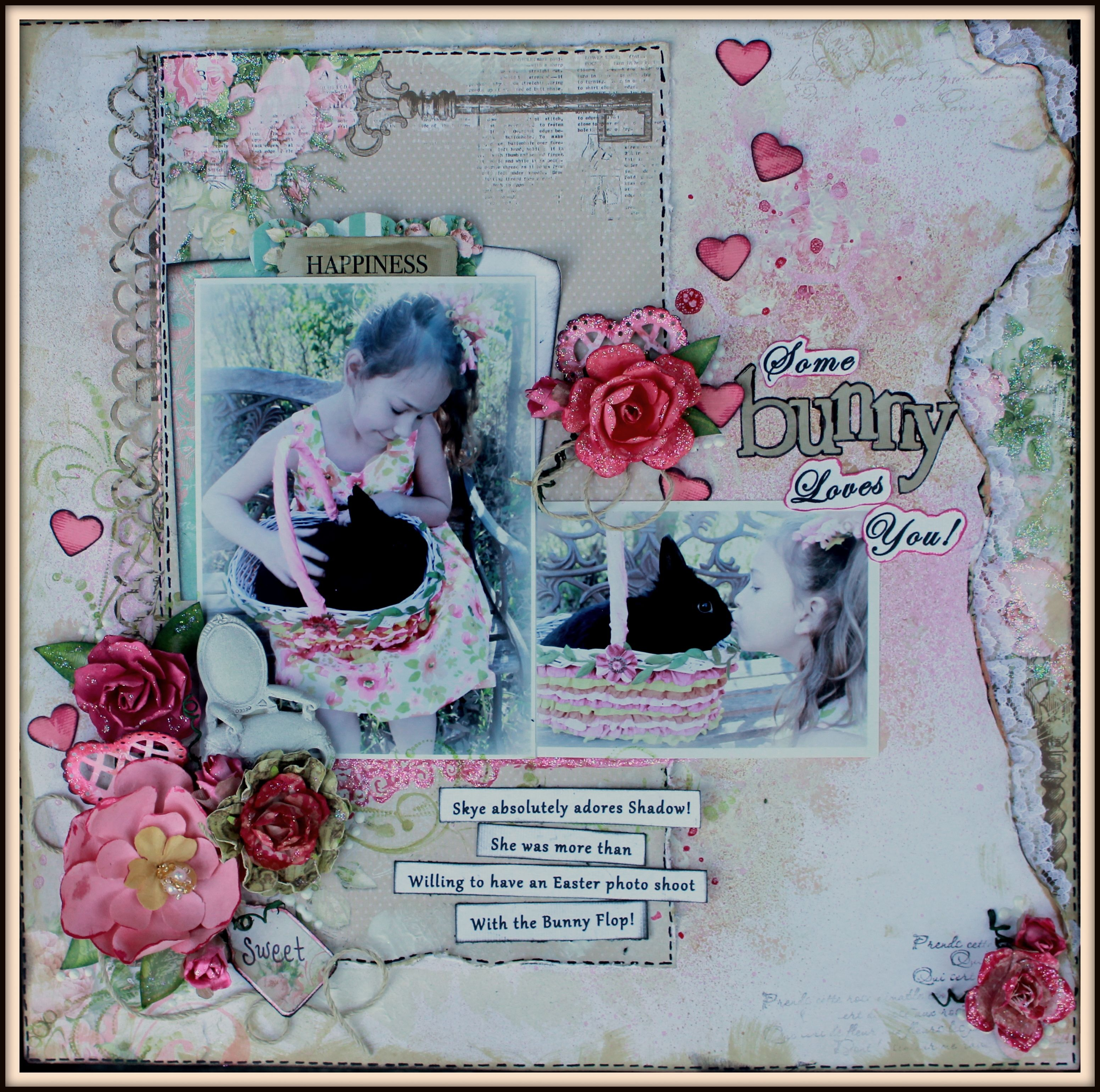 Some+Bunny+Loes+You! - http://mycreativescrapbook.com for May 2016 with the gorgeous Limited Edition kit.