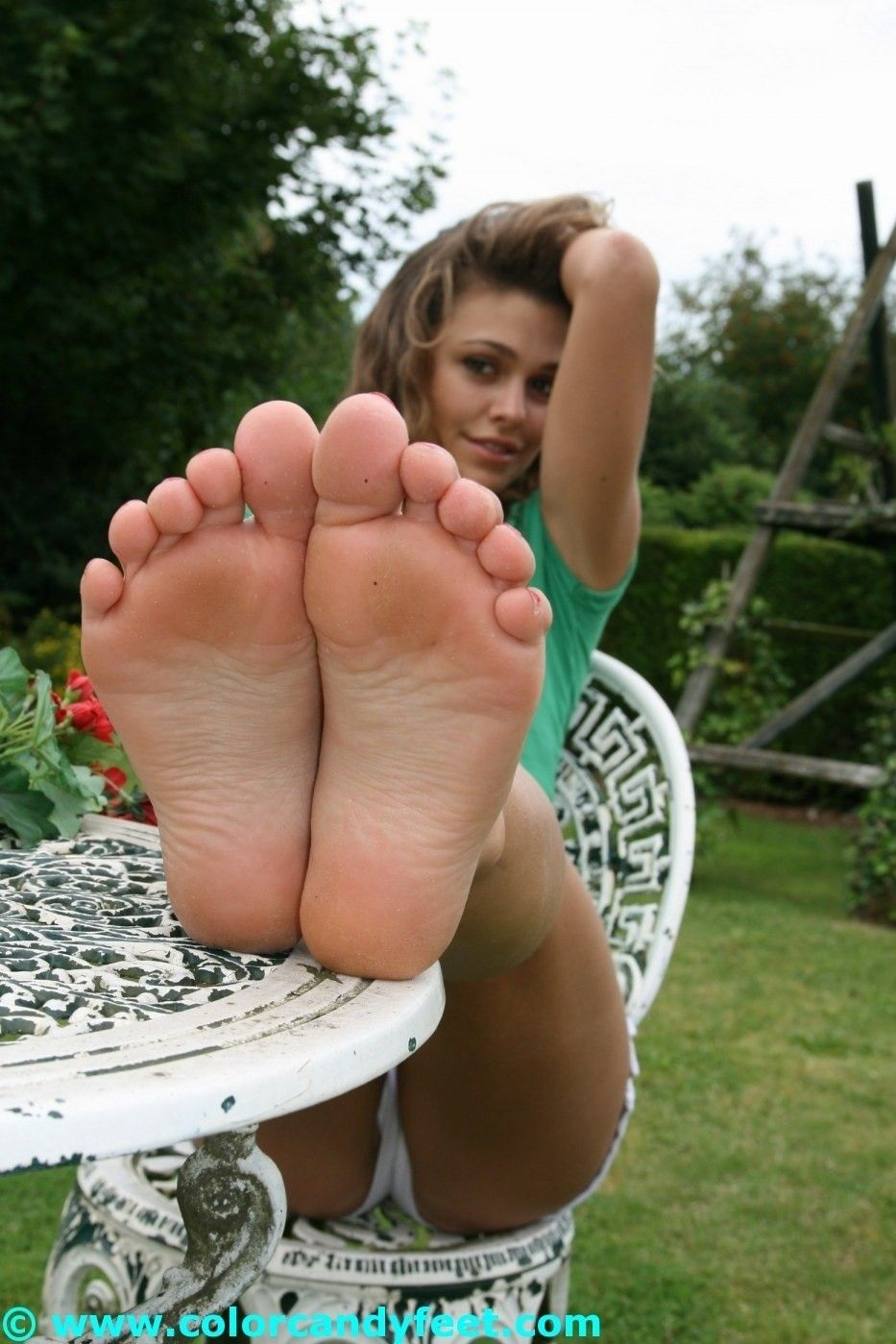 Beautiful 18 Years Old Feet
