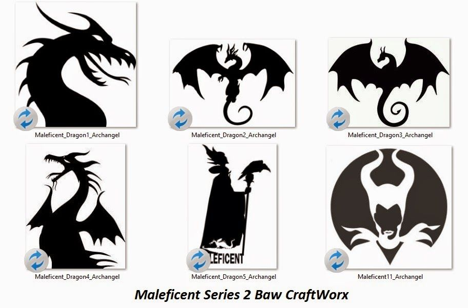 And Here Is Part 2 Of The Maleficent Svg Series Again