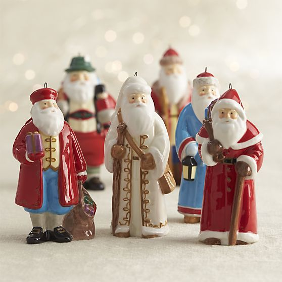 Around The World Santa England Ornament Ornaments Santa Ornaments Christmas Ornaments