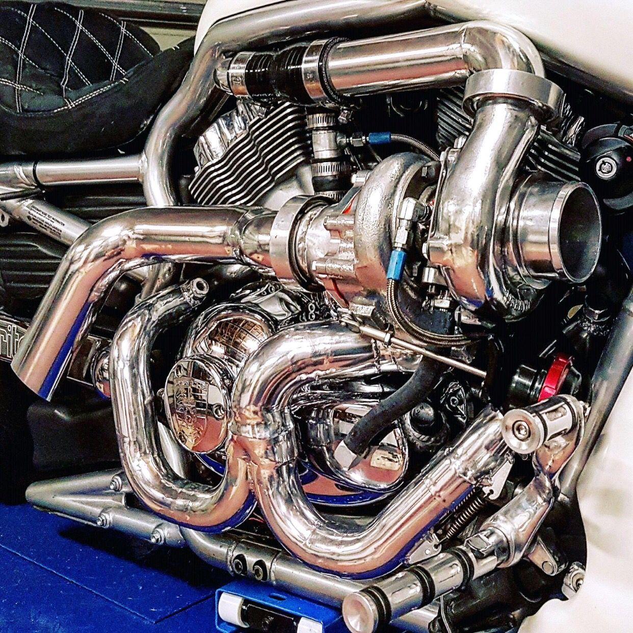 hight resolution of custom vrod harley turbo kit