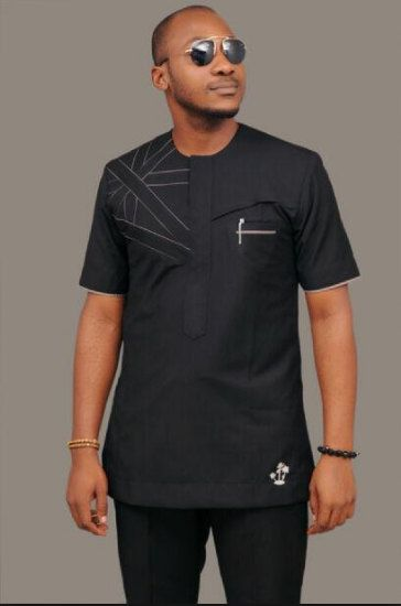 d074f887 African Clothing for Men Traditional African Print by MalvisCo ...