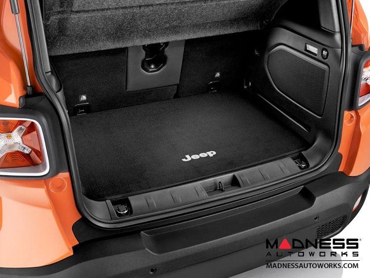 Jeep Renegade Cargo Mat W Jeep Logo Black