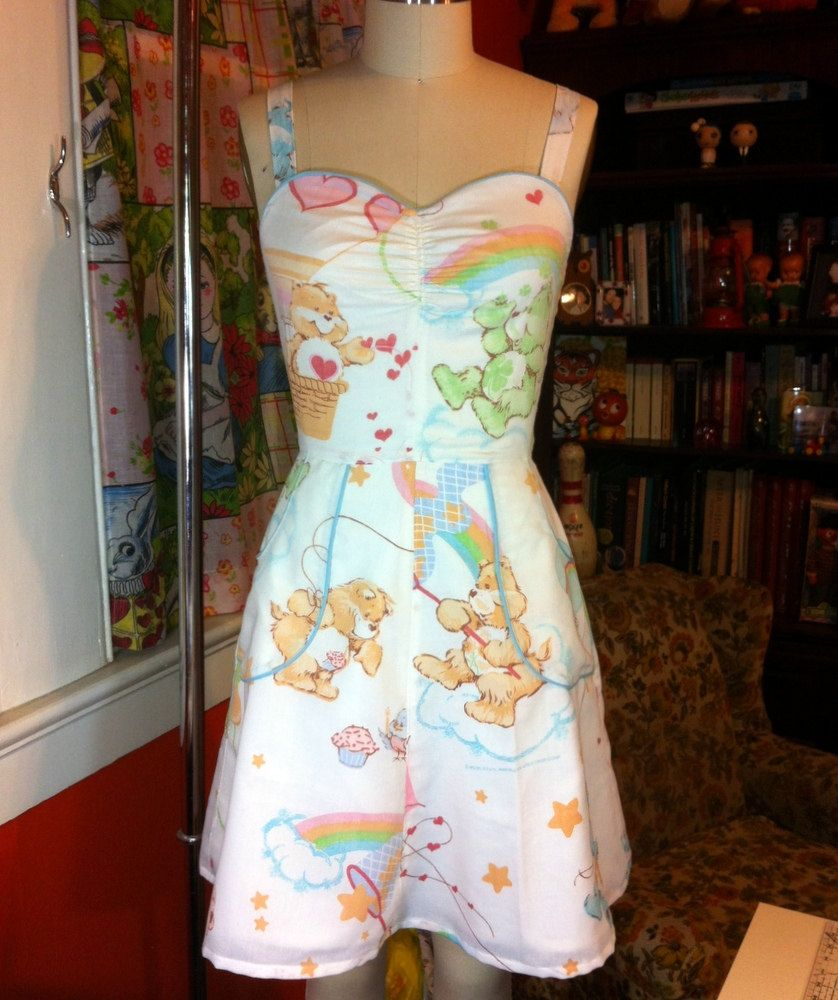 care bear dress!!!!!!!!!!
