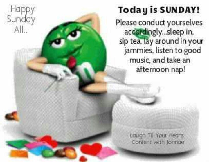 Happy Sunday Quotes Quote Days Of The Week Sunday M And Ms