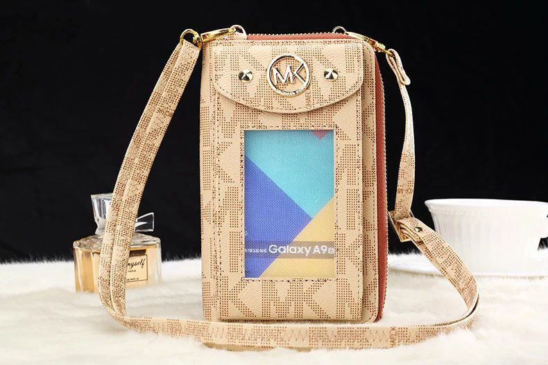 Michael kors luxury brand phone wallet iphone 7 case bag