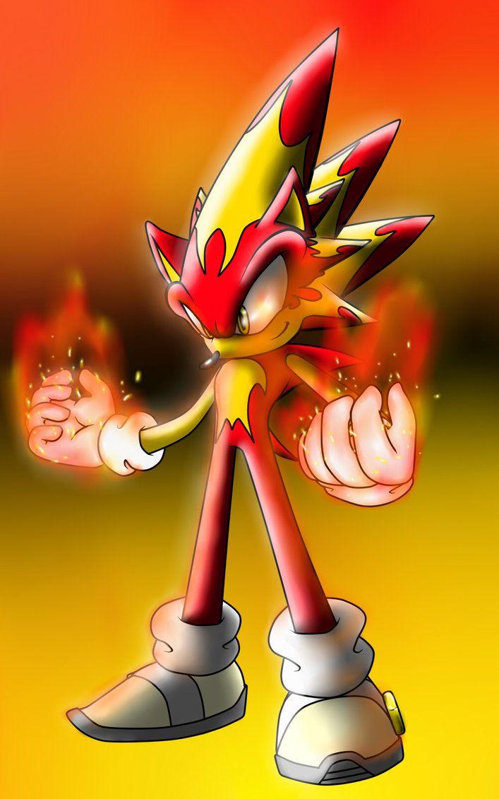 Fire Sonic Sonic Fan Art Sonic Sonic Art