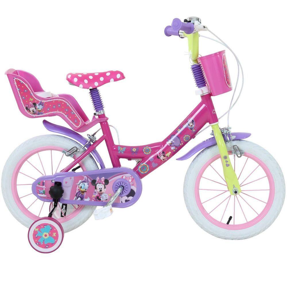 14 Zoll Disney Minnie Kinderrad Kinder Daisy Madchen Ab Ca 3 Jahre Fahrrad Kinder Fahrrad Kinderfahrrad Fahrrad