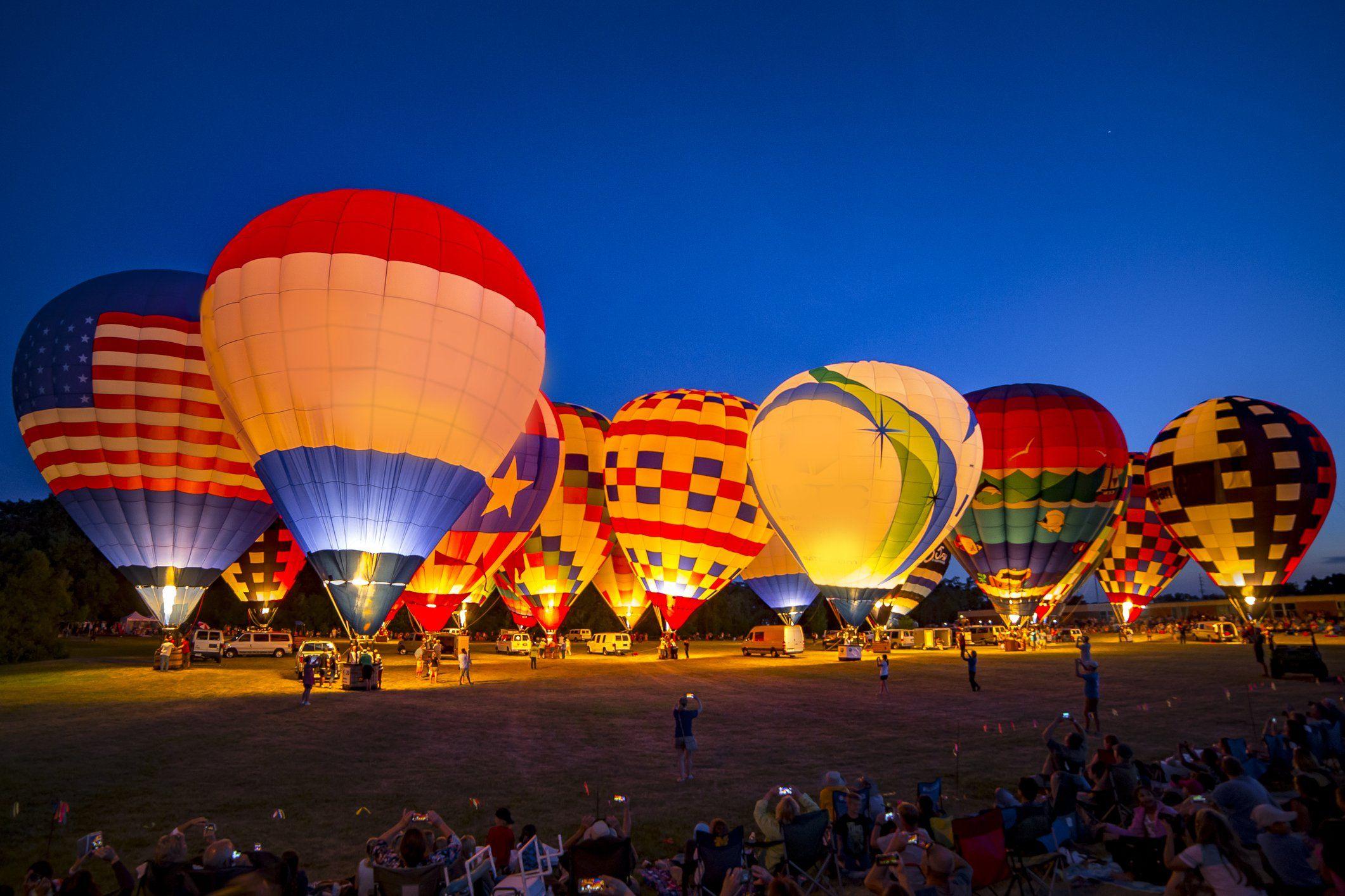 This Magical Hot Air Balloon Glow In South Carolina Will