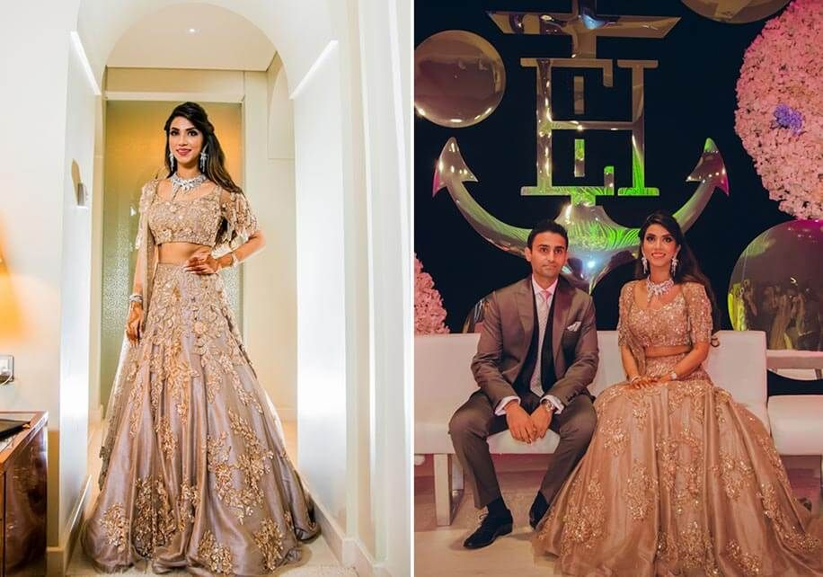 Eshanka and Harit | Manish malhotra, Manish and Rose