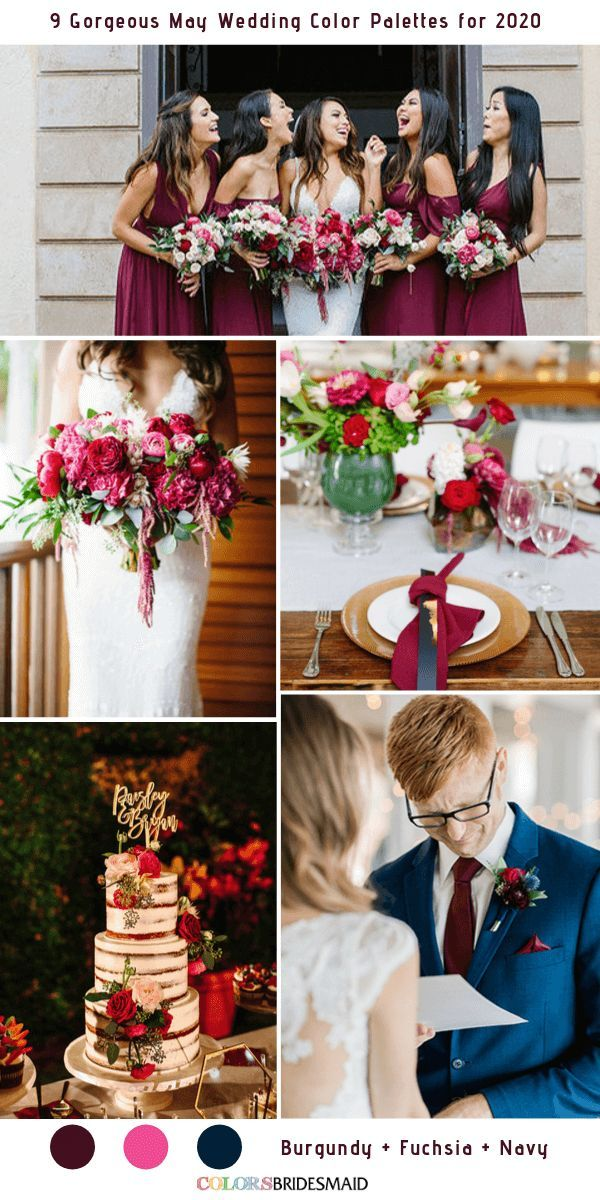 9 May Wedding Color Palettes for 2020 Pink