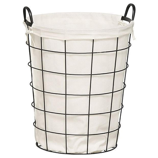 Large Laundry Sorter Metal Laundry Hamper  Black  Pinterest  Laundry Hamper Hamper