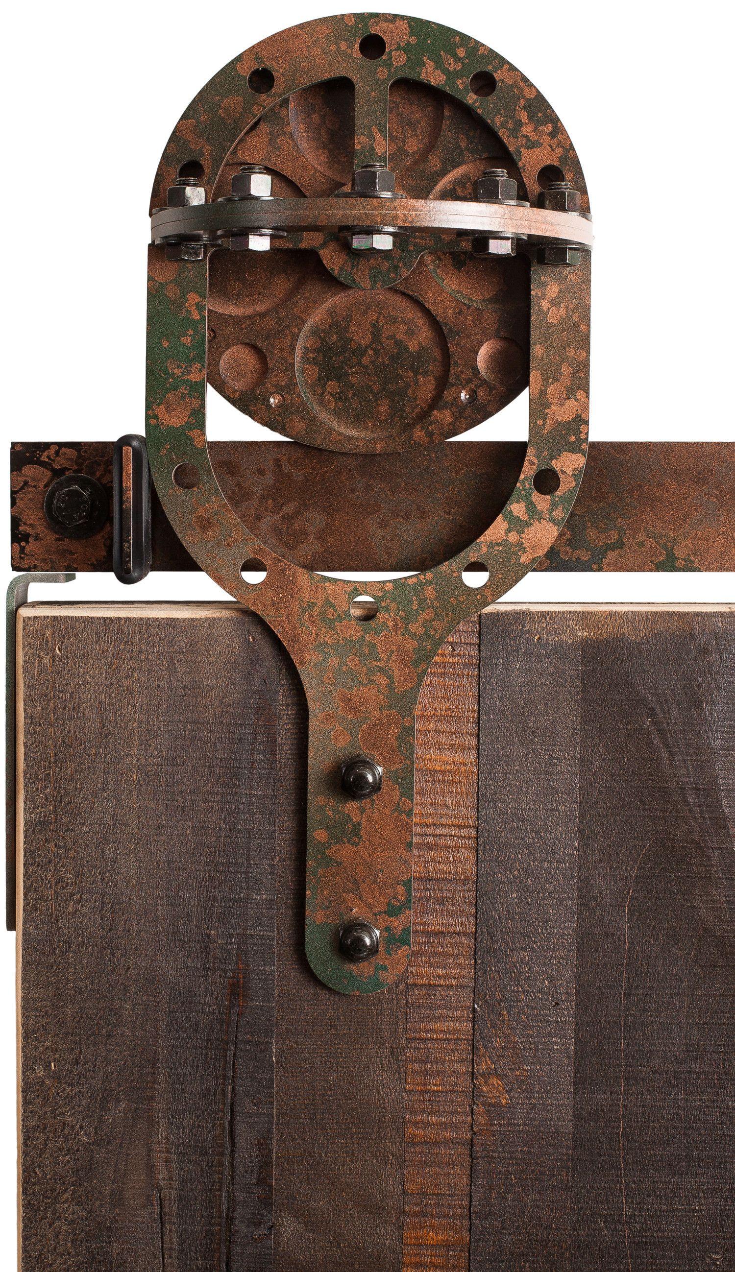 Sawmill Rustic Barn Door Hardware Kit Rustica Hardware