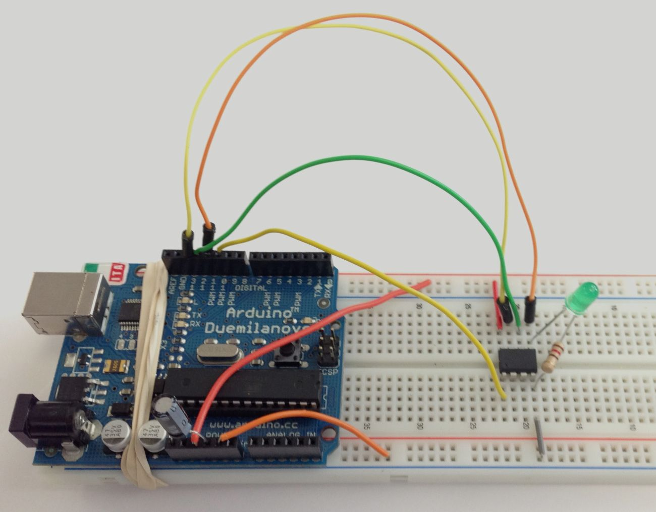 Programming The Attiny With An Arduino The Wandering
