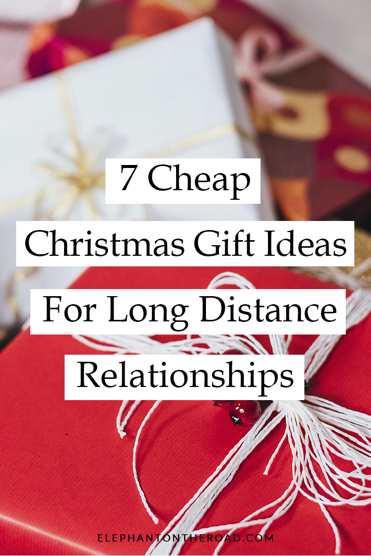 7 Cheap Christmas Gifts Ideas For Long Distance