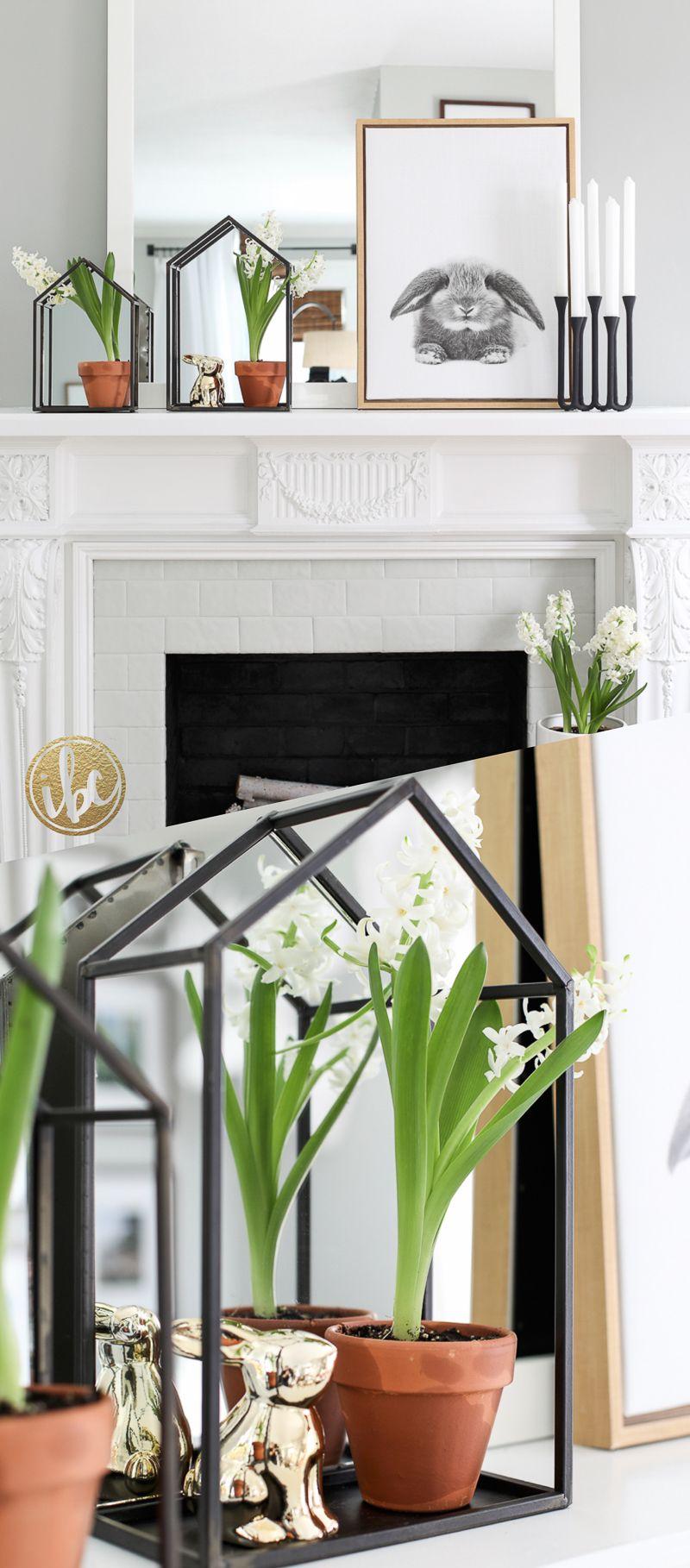 Mantel Decorating Ideas Spring Farmhouse Decor
