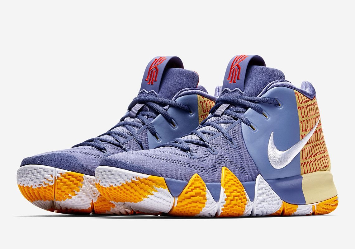 Nike Kyrie 4 London PE AR6189-500 Release Info | SneakerNews.com