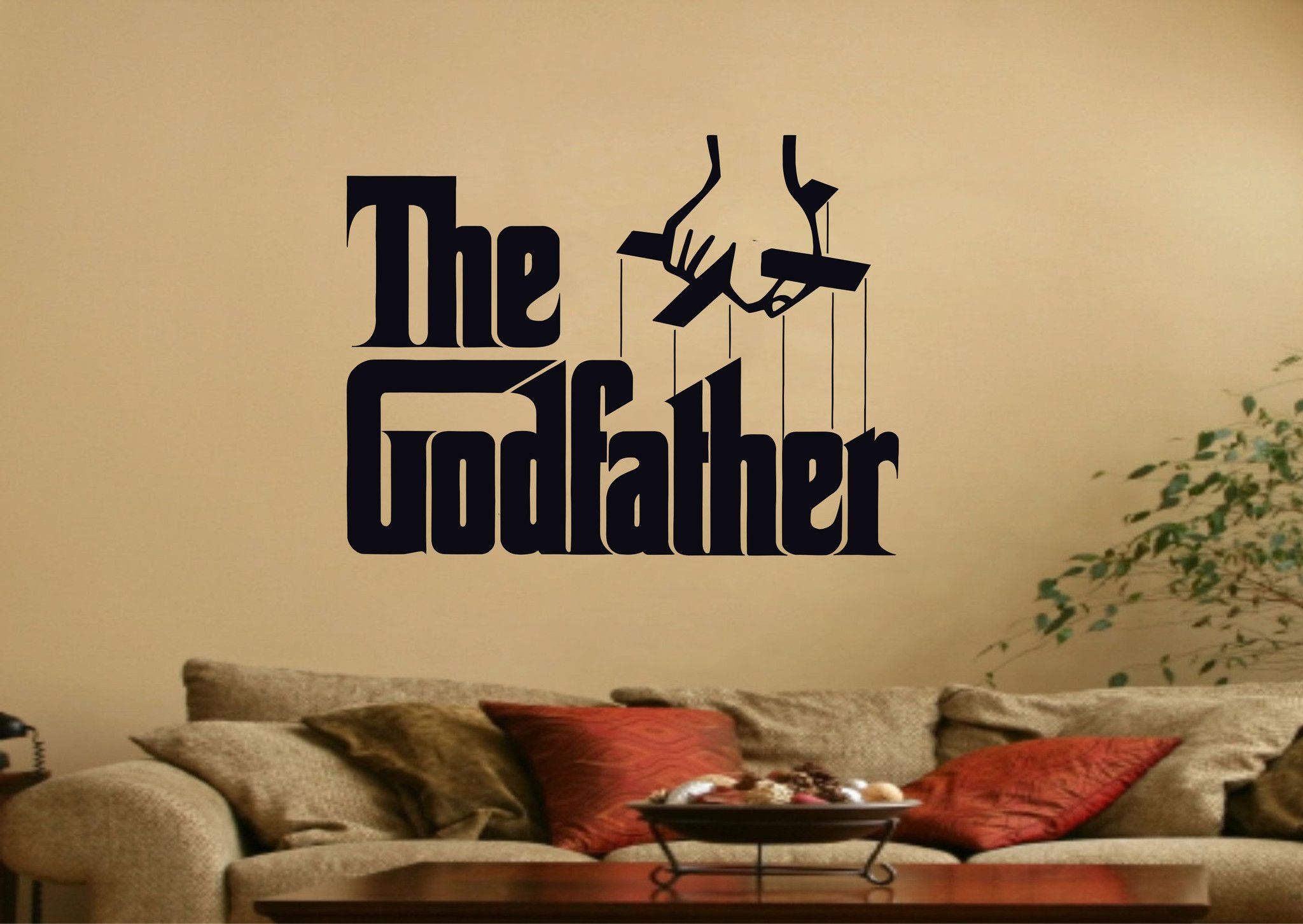The Godfather Movie Wall Art Sticker – iwallstickers | vinil ...