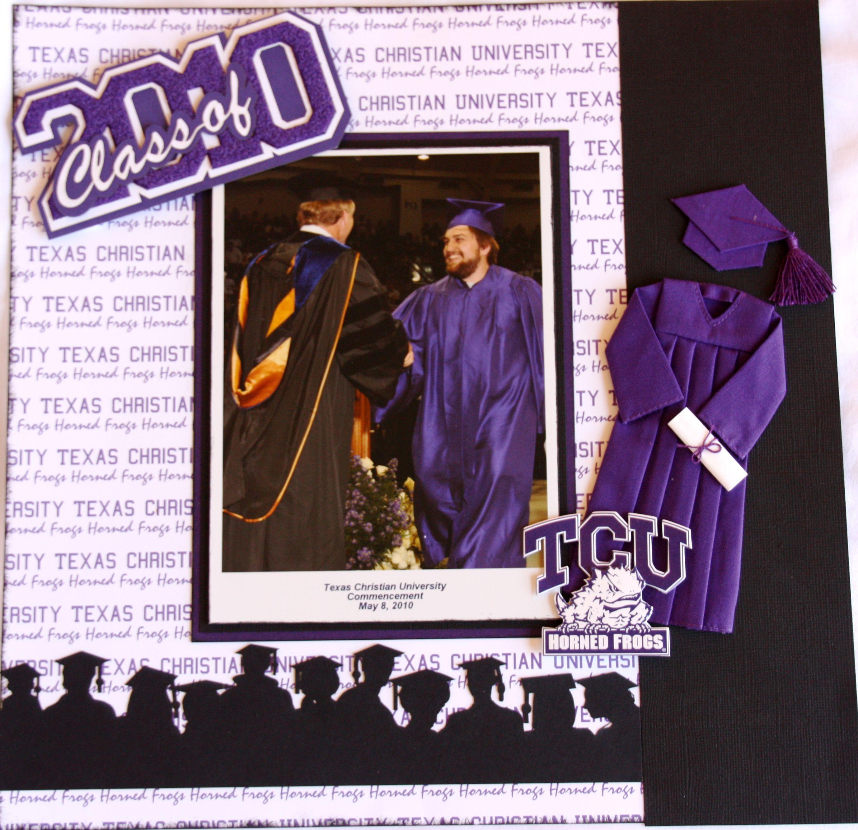 Graduation scrapbook ideas pinterest - Part 2 Of Double Page Lo Scrapbook Com Graduation