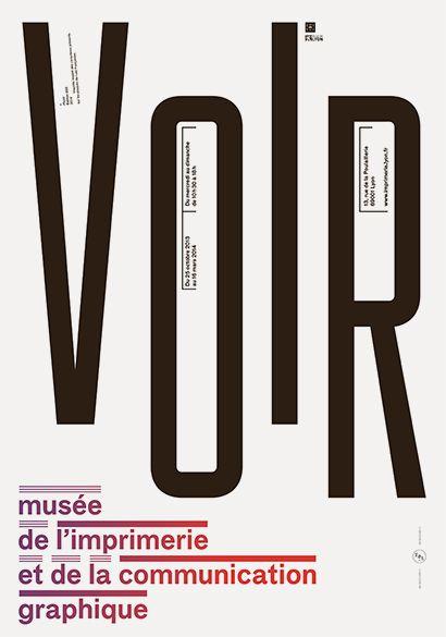 Lézard graphique: Musée of printing and graphic communication (Lyon, France)