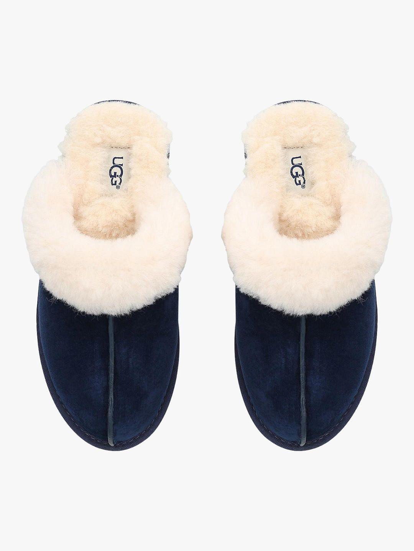 66f8330da76 UGG Scuffette II Sheepskin Slippers, Blue Dark/Cream in 2019 | Want ...