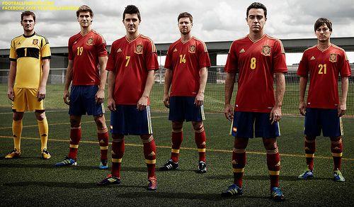 Adulto vídeo Íncubo  Official Launch: Spain adidas EURO 2012 Home Jersey / Camiseta - FOOTBALL  FASHION | Spain national football team, National football teams, Spain  football