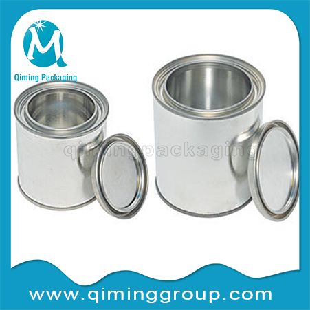 Round Tin Cans Small Tinplate Pails Tinplate Cans Qiming Packaging 10 Painted Tin Cans Tin Can Tin