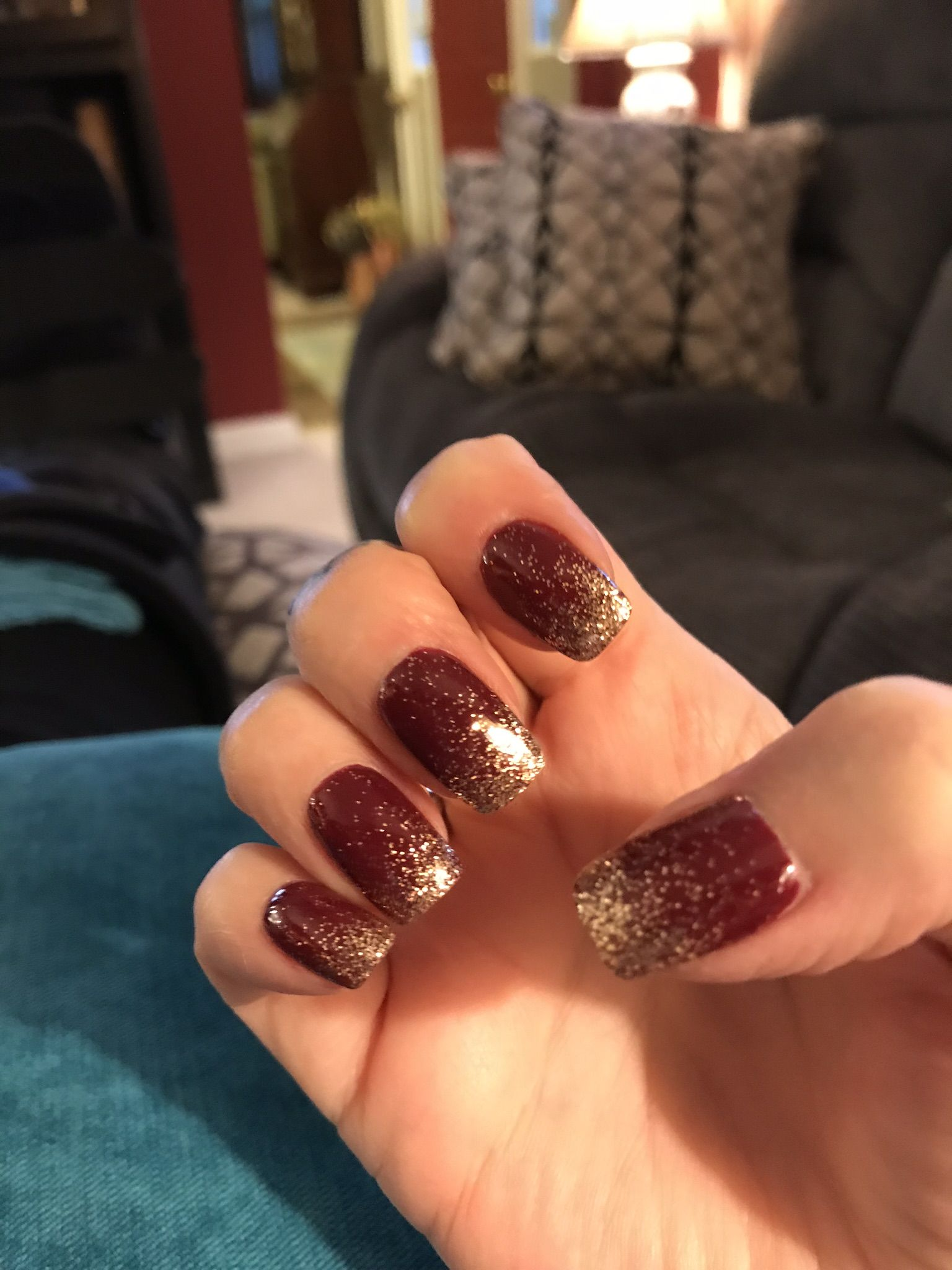 My Latest Ombre Nails Ombre Nail Colors Ombre Nails Red Ombre Nails