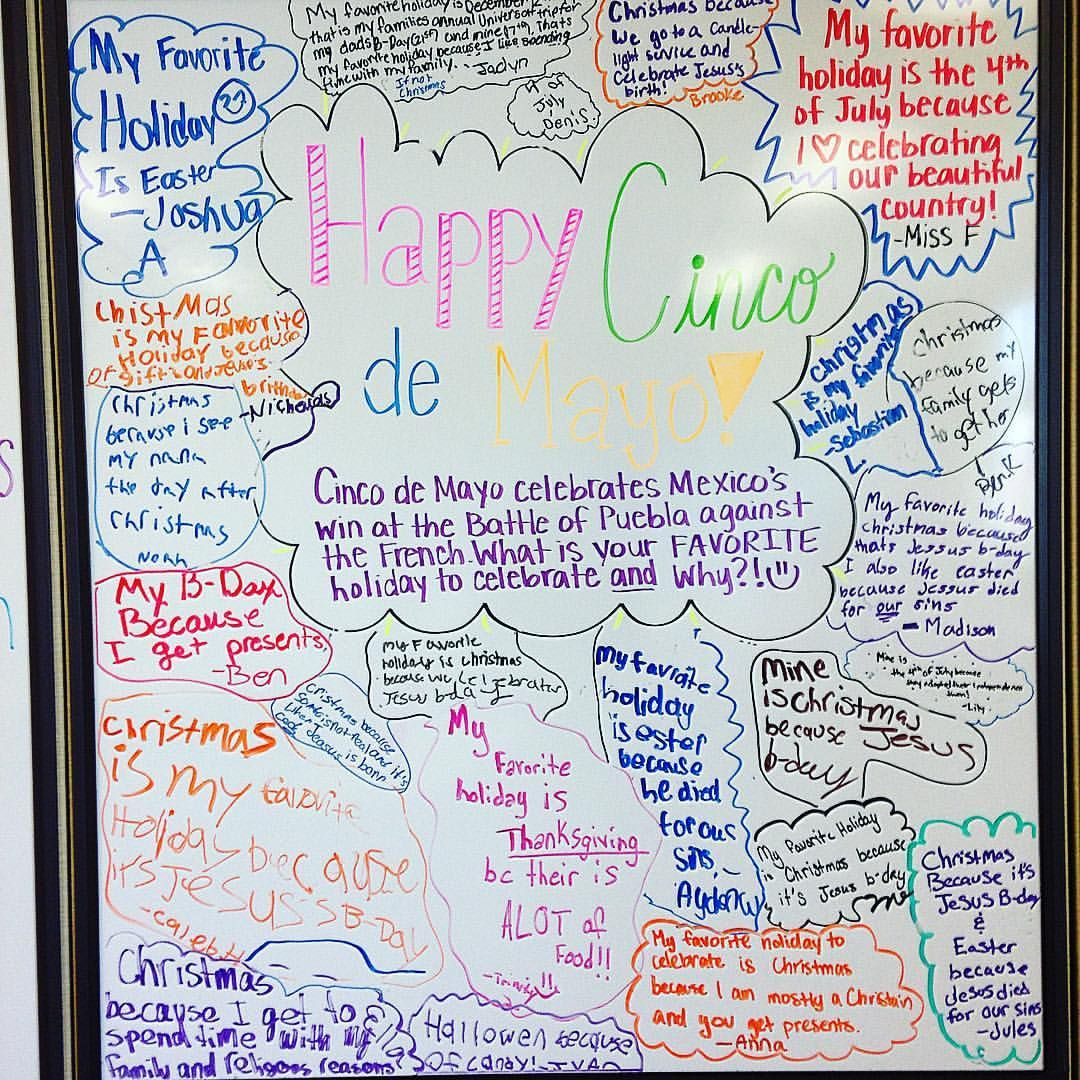 Happy Cinco De Mayo Today We Shared What Our Favorite