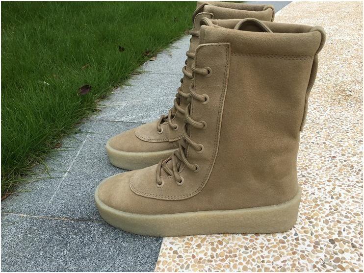 dd46738adb310 Authentic Yeezy Season 2 Boot brown6