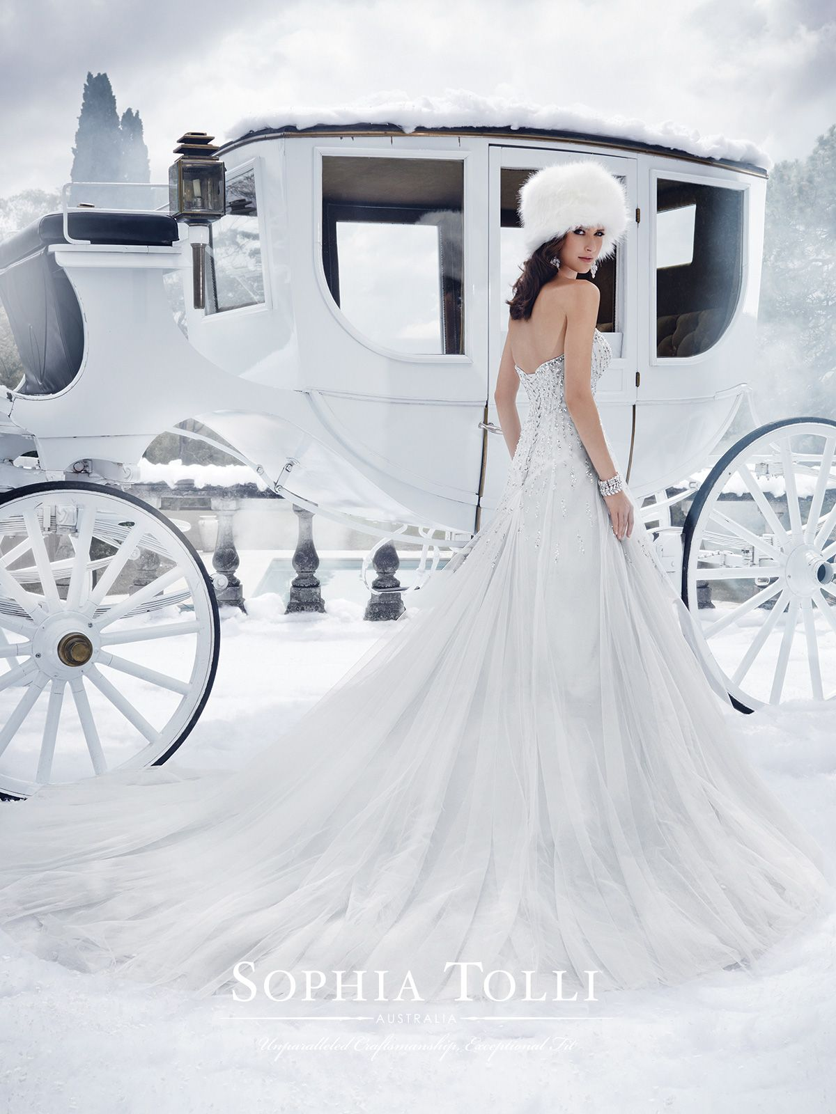 WEDDING DRESSES by Sophia Tolli, these bridal gowns provide both ...