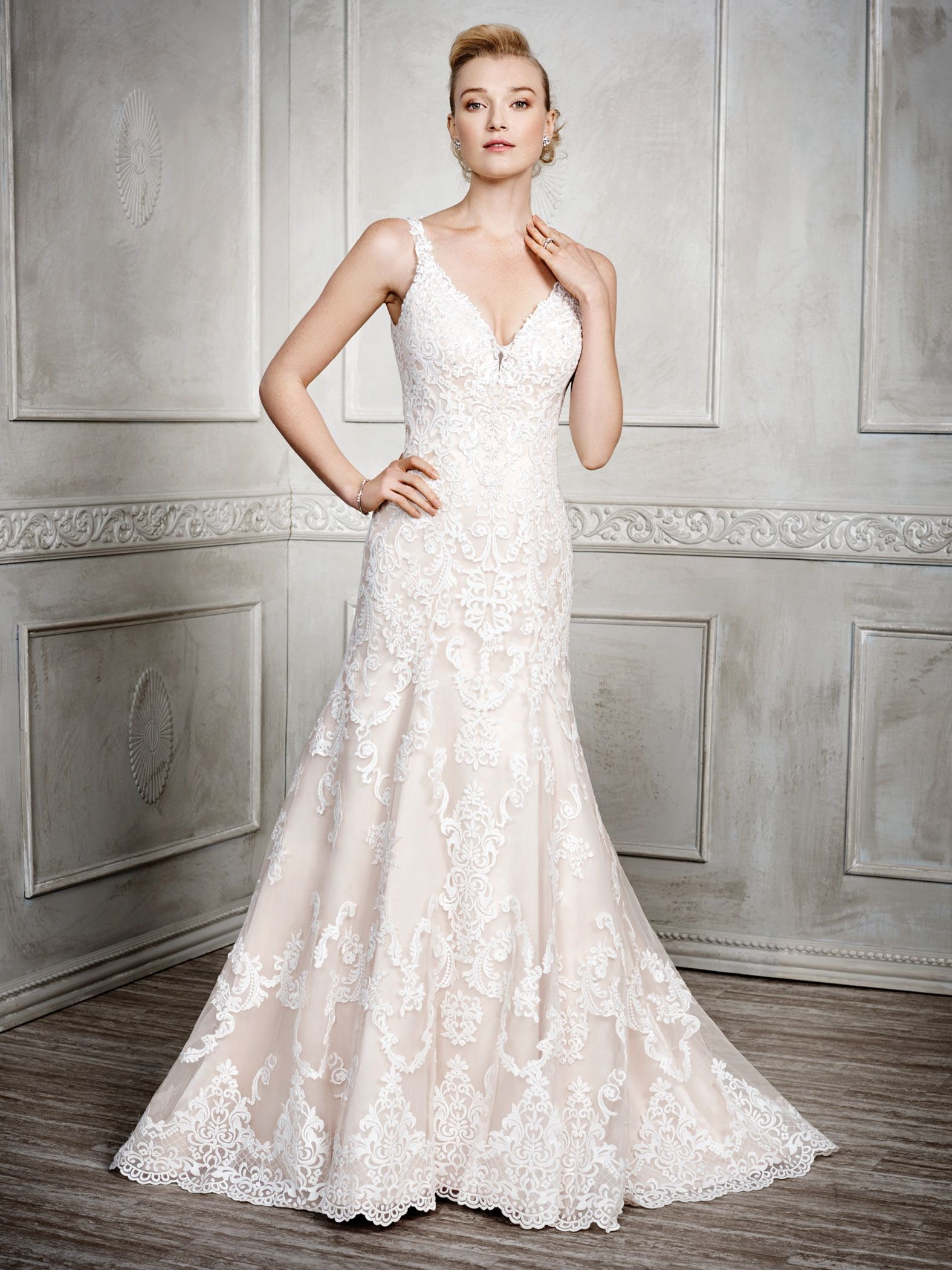 Kenneth Winston Style weddingdress bridal Mattie in