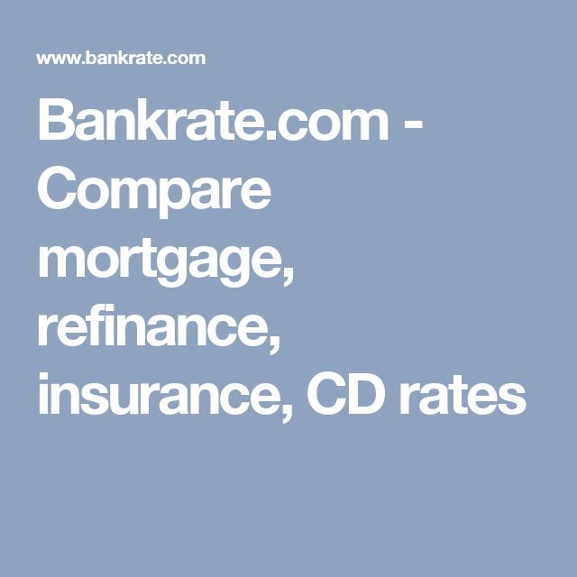 compare mortgages