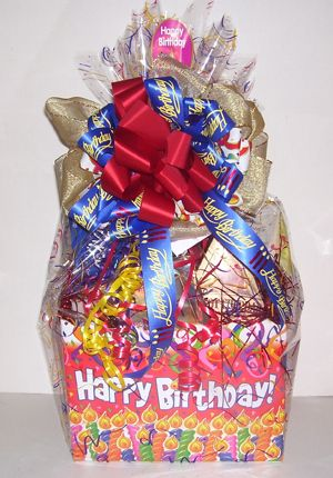 Happy Birthday Gift Baskets For Him Or Her